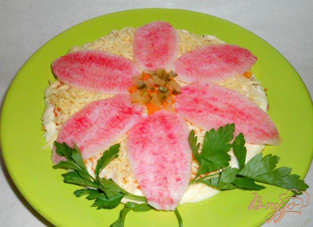 салат три цветка рецепт и фото теле ребенка