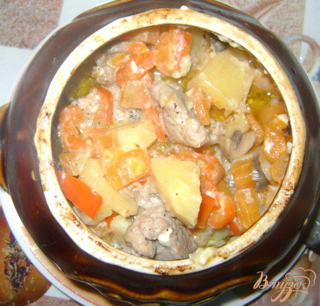 жаркое в хлебном горшочке рецепт с фото инструментом выполнять