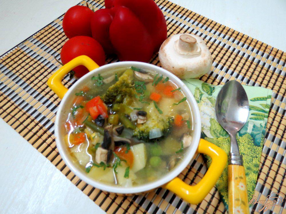 Овощных супах диета для похудения