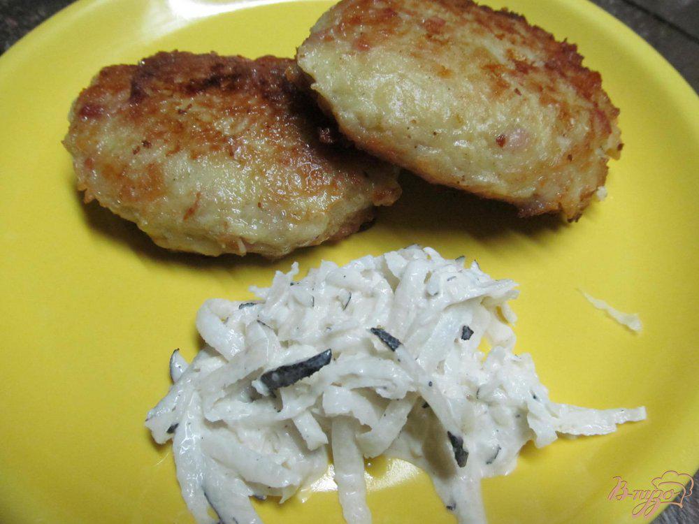 Картофельные котлеты диета 5