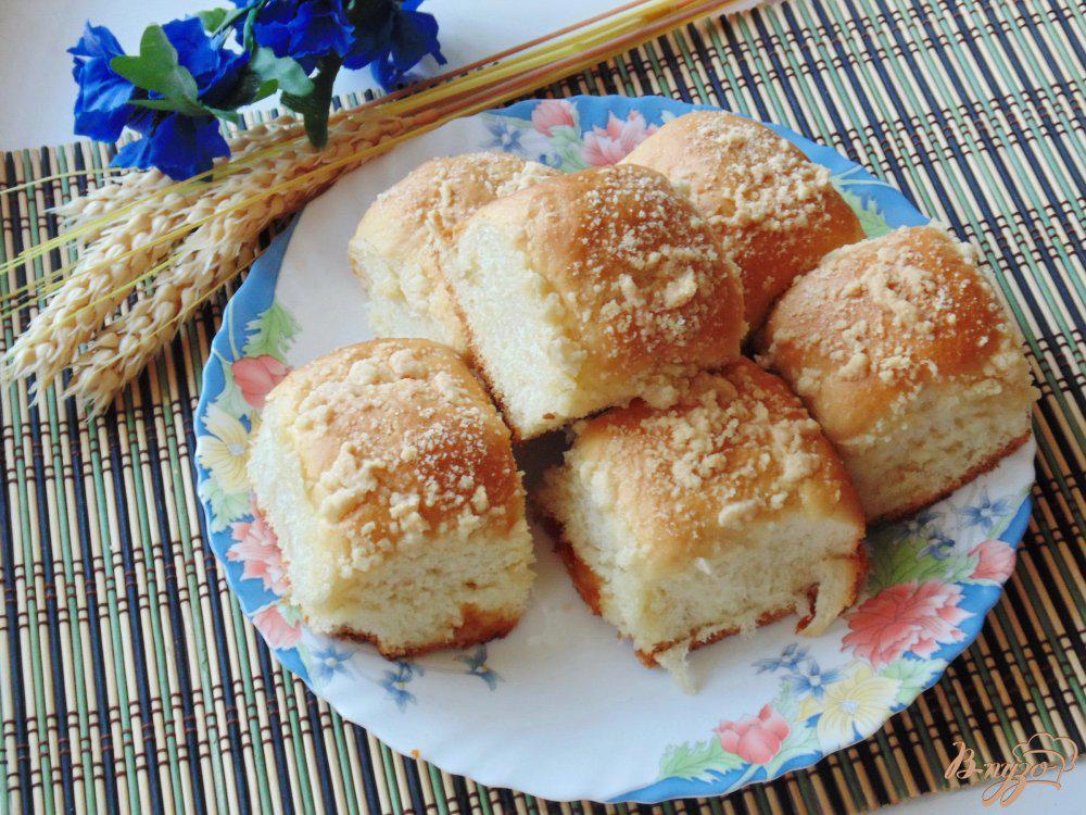 булочки со штрейзелем рецепт с фото