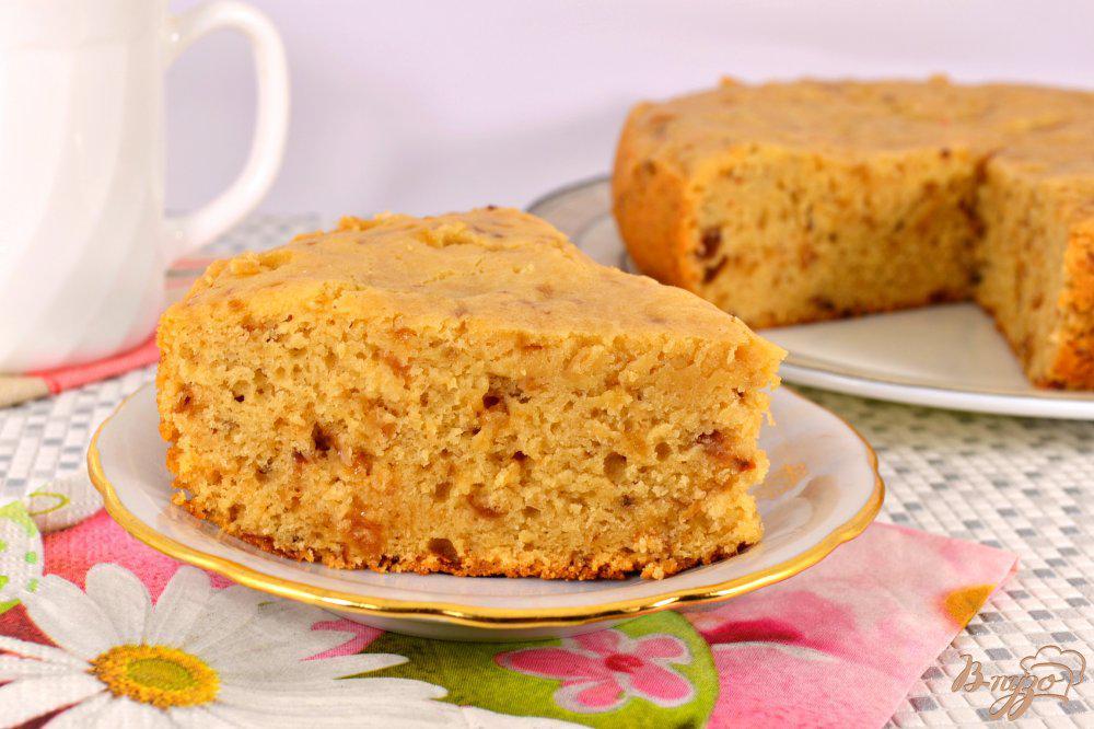 Пирог бисквитный простой рецепт с фото
