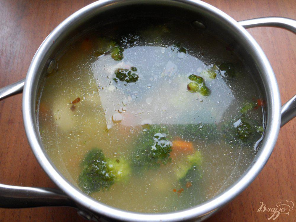 Суп С Брокколи И Рисом Диета 5.