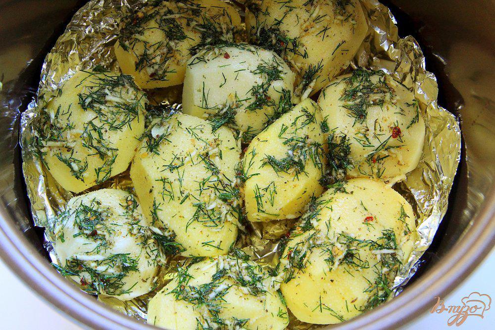 Запеченная картошка в мультиварке рецепты с фото
