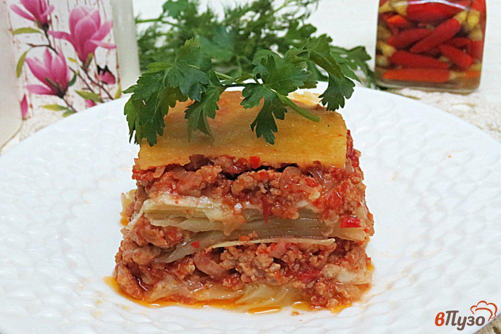 капустная лазанья рецепт с фото помощью