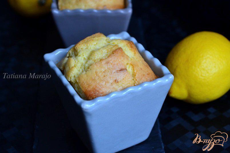 Перевернутый кекс лимонный рецепт с фото