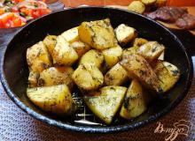рецепт молодой картошки по селянски в духовке