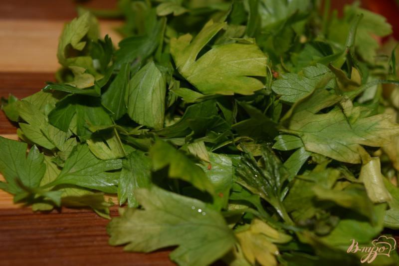 Фото приготовление рецепта: Теплый салат с болгарским перцем шаг №2
