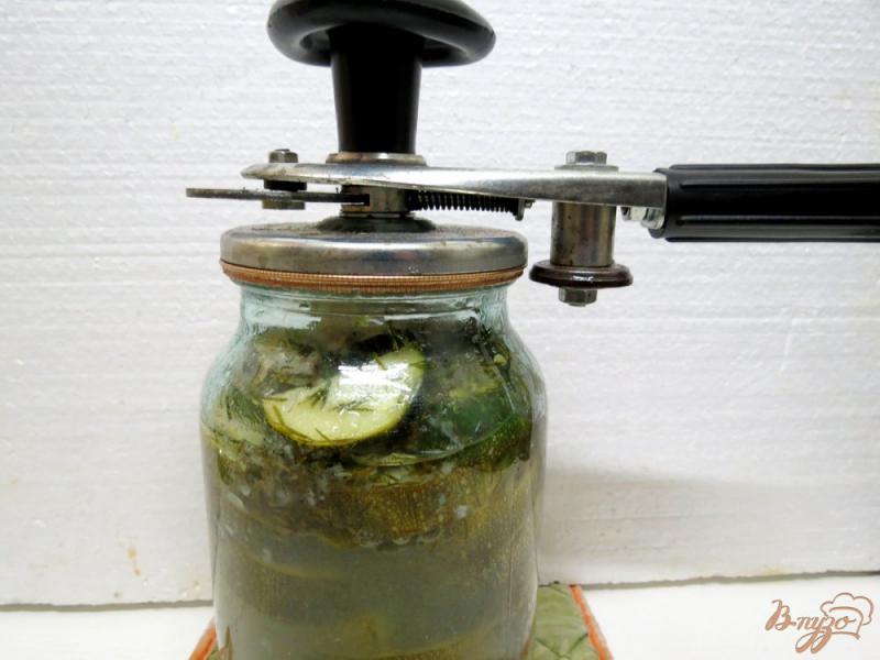 Фото приготовление рецепта: Цуккини как грибы шаг №10