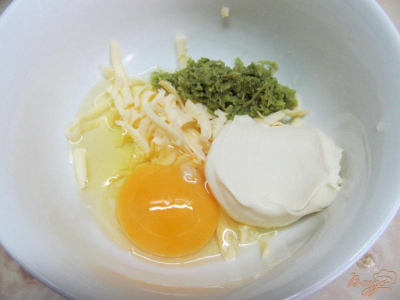 Фото приготовление рецепта: Макаронная запеканка с курицей и овощами шаг №4
