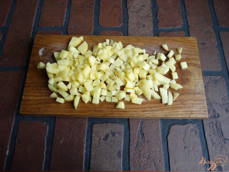 Фото приготовление рецепта: Окрошка на тане в мультиварке шаг №2