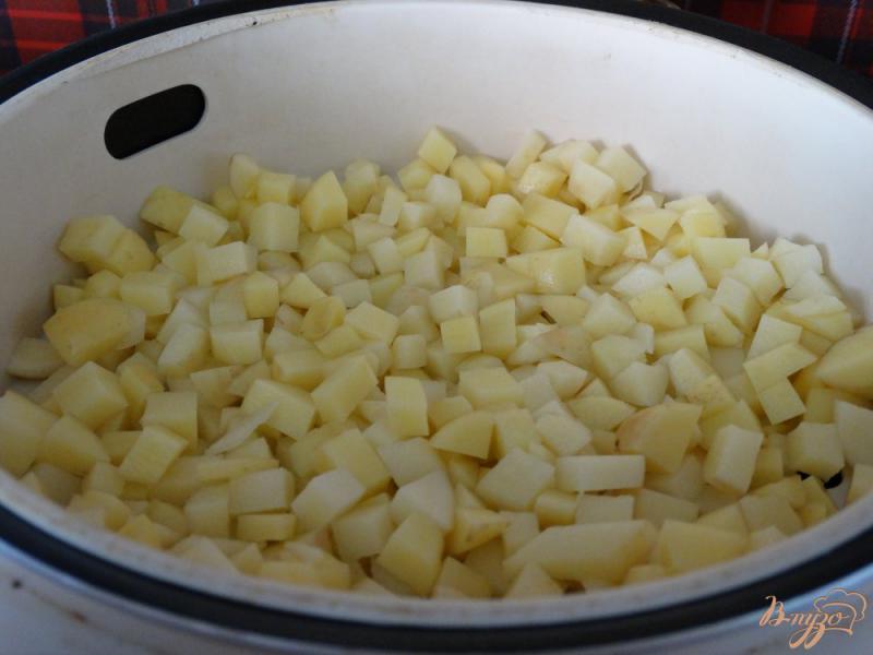 Фото приготовление рецепта: Окрошка на тане в мультиварке шаг №3