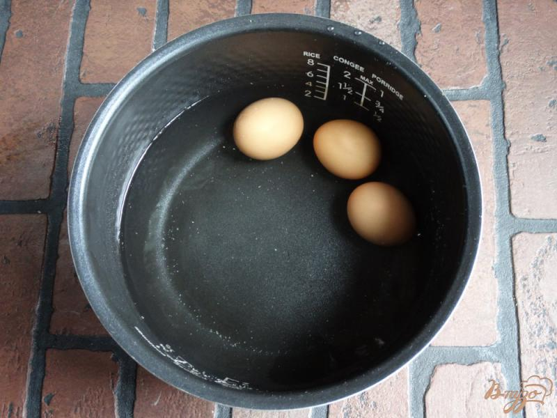 Фото приготовление рецепта: Окрошка на тане в мультиварке шаг №1
