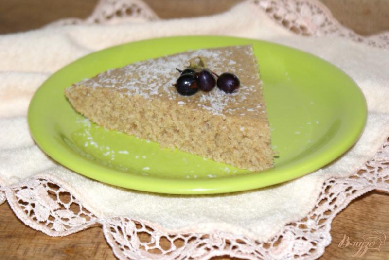 Фото приготовление рецепта: Манник на молоке из ржаной муки шаг №7