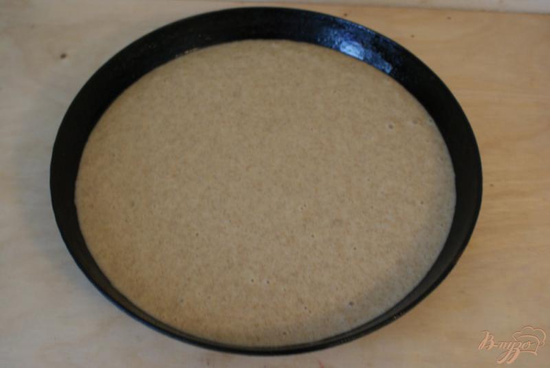Фото приготовление рецепта: Манник на молоке из ржаной муки шаг №6