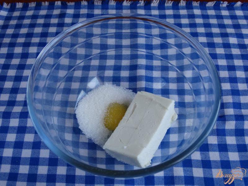 Фото приготовление рецепта: Творожная запеканка с рисом и фруктами на пар шаг №2