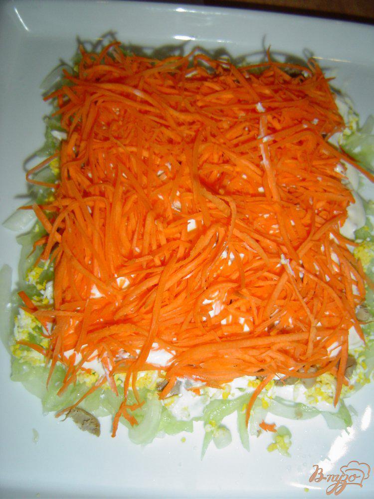 Фото приготовление рецепта: Салат «Нежность» шаг №8