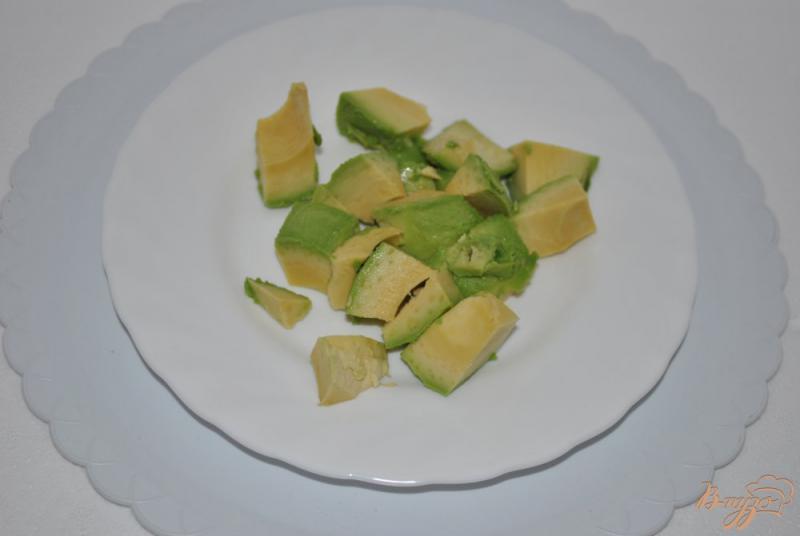 Фото приготовление рецепта: Мороженое банановое с авокадо шаг №2