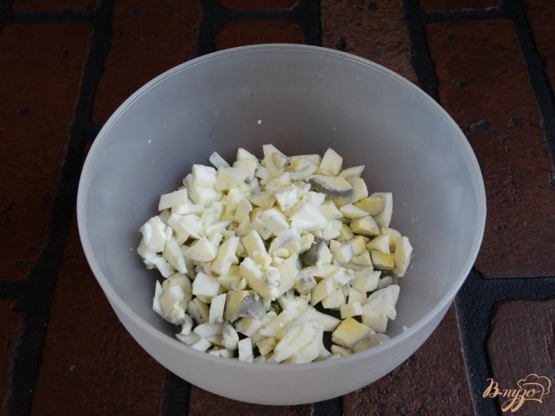 Фото приготовление рецепта: Яичная намазка для бутербродов шаг №1