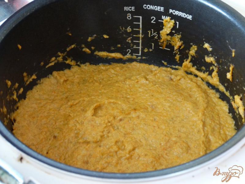 Фото приготовление рецепта: Кабачковая икра с майонезом в мультиварке шаг №9