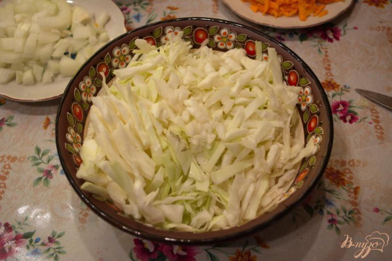 Борщ из курицы со свежей жареной капустой - рецепт пошаговый с фото