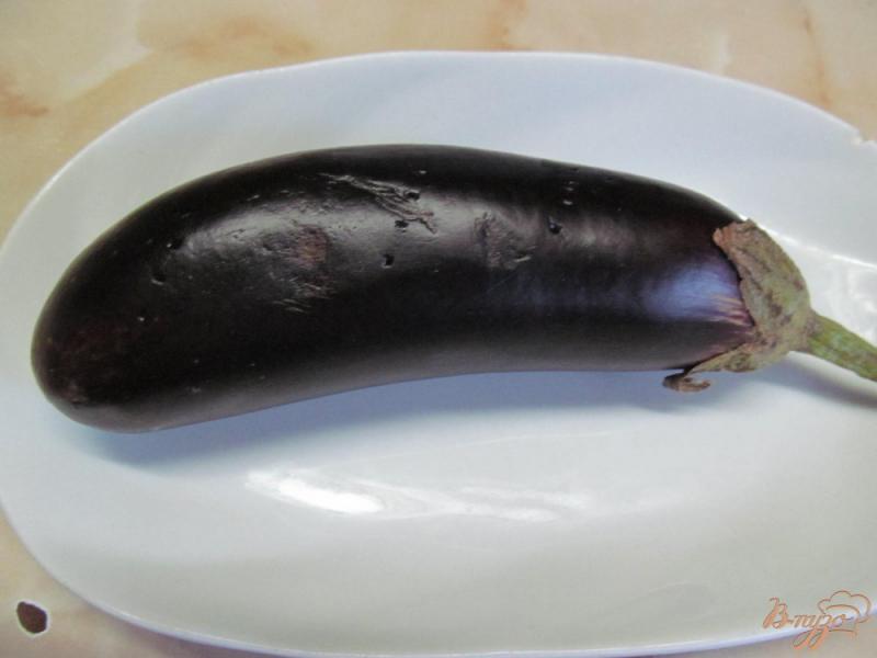 Фото приготовление рецепта: Бабагануш - намазка из баклажанов на завтрак шаг №1