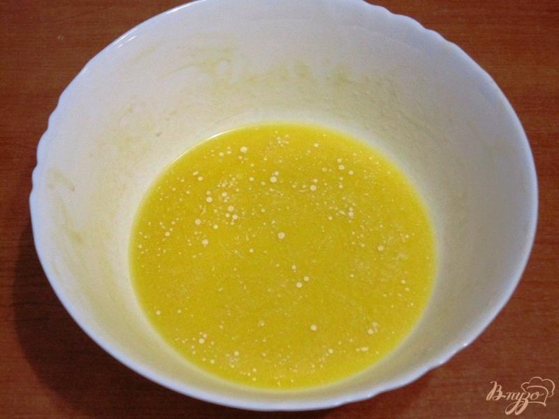 Фото приготовление рецепта: Пирог с копченой горбушей шаг №2