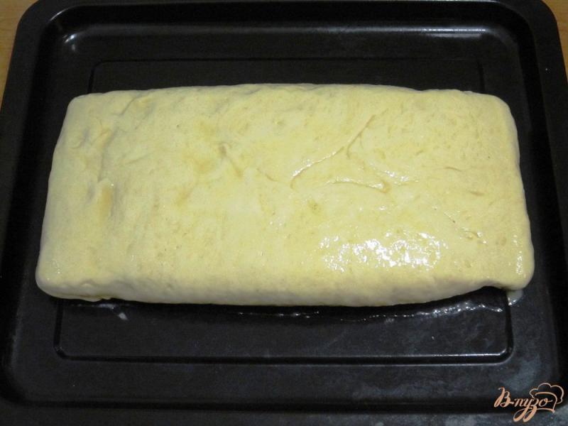 Фото приготовление рецепта: Пирог с копченой горбушей шаг №10