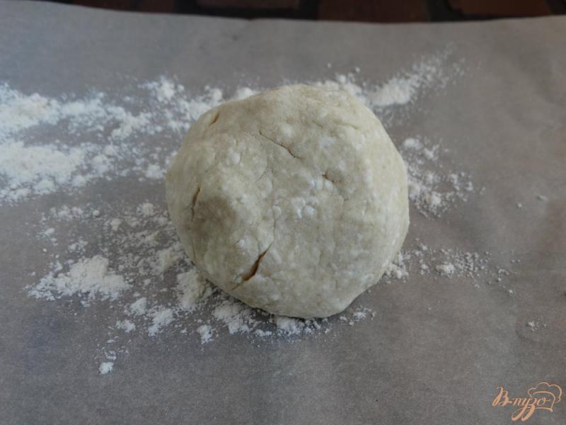 Фото приготовление рецепта: Творожные бублики для детей шаг №6