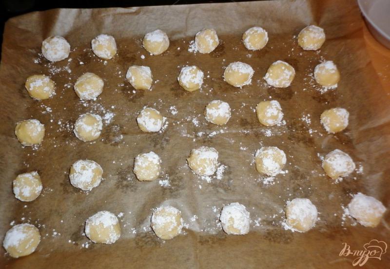 Фото приготовление рецепта: Итальянское лимонное печенье (Biscotti morbidi al limone) шаг №7