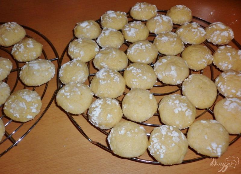 Фото приготовление рецепта: Итальянское лимонное печенье (Biscotti morbidi al limone) шаг №8