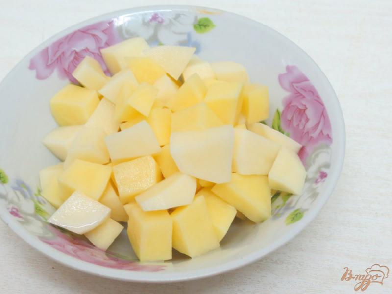 Фото приготовление рецепта: Венгерский чесночный суп шаг №2