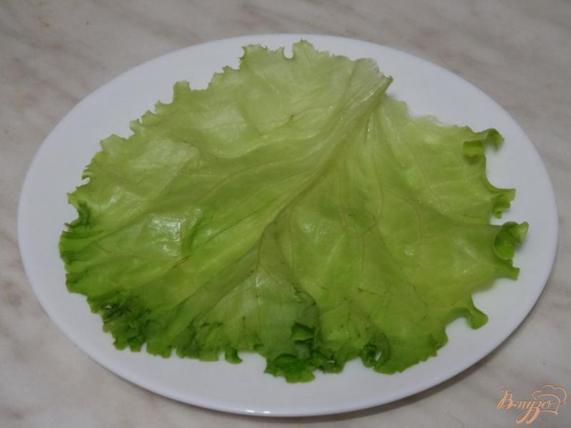 Фото приготовление рецепта: Салат с авокадо и курицей шаг №5