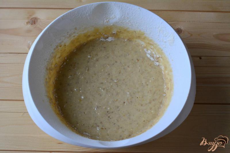 Фото приготовление рецепта: Кексы на сливках шаг №4