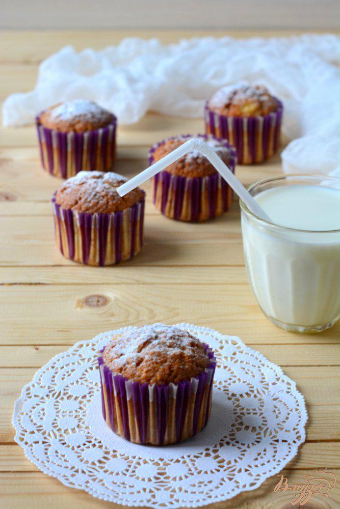 Фото приготовление рецепта: Кексы на сливках шаг №7