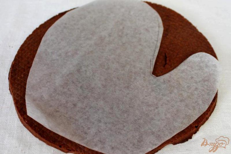 Фото приготовление рецепта: Торт «Варежка» шаг №7