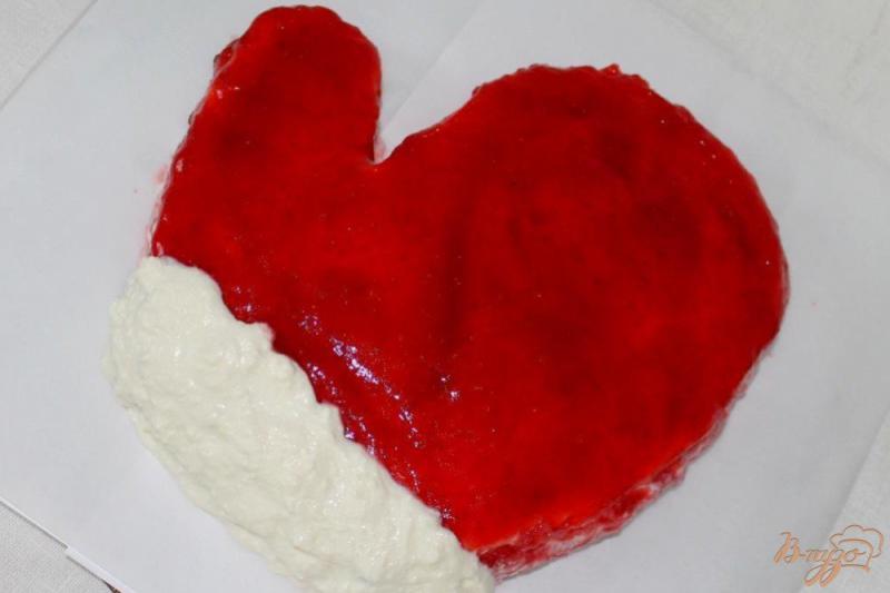 Фото приготовление рецепта: Торт «Варежка» шаг №13