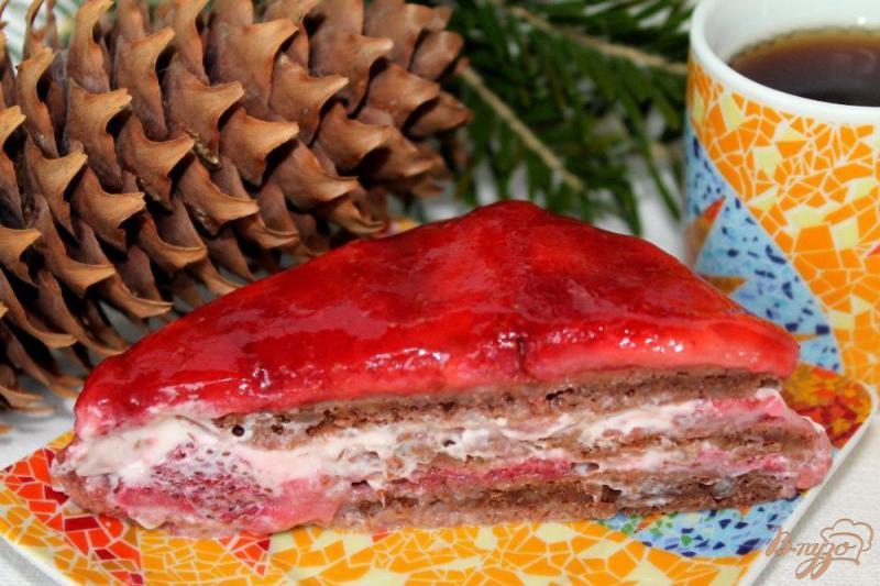 Фото приготовление рецепта: Торт «Варежка» шаг №15