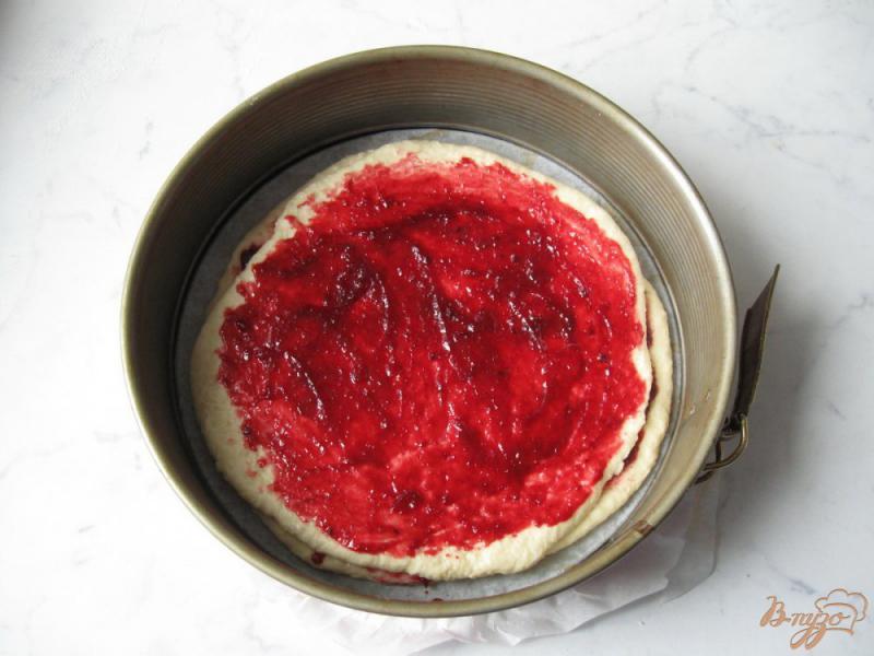 Дрожжевой пирог с джемом - рецепт пошаговый с фото