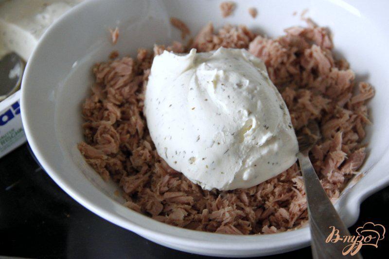 Закусочные профитроли с консервированным тунцом - рецепт пошаговый с фото