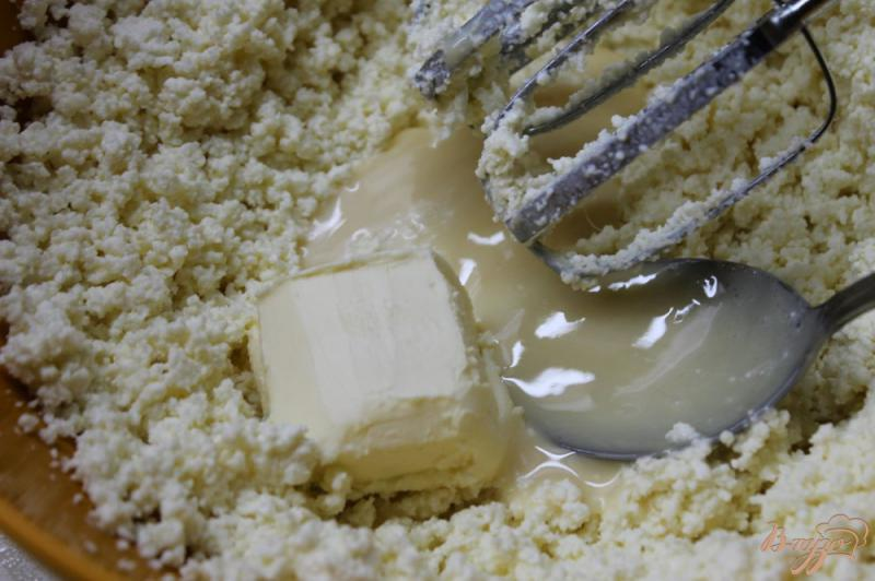 Фото приготовление рецепта: Заварное пирожное с творожным кремом внутри шаг №10