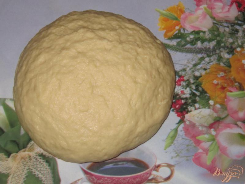 Фото приготовление рецепта: Постное печенье на рассоле шаг №5