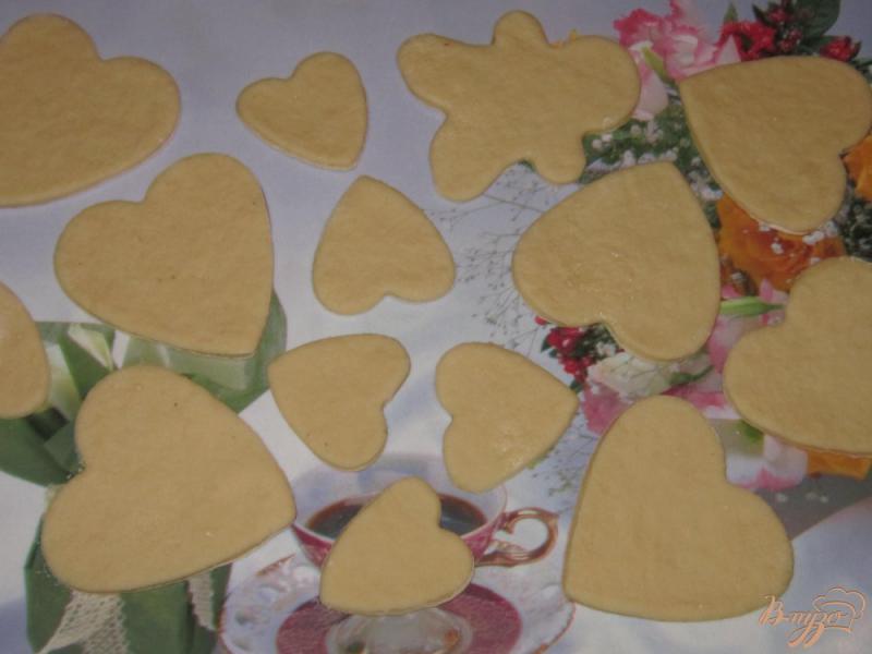 Фото приготовление рецепта: Постное печенье на рассоле шаг №6