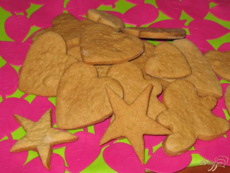 Фото приготовление рецепта: Постное печенье на рассоле шаг №7