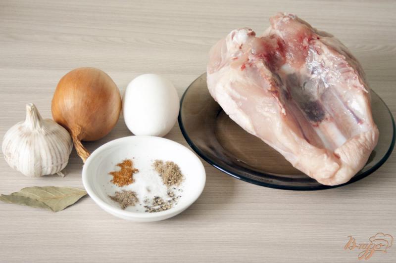 Фото приготовление рецепта: Купаты из курицы шаг №1