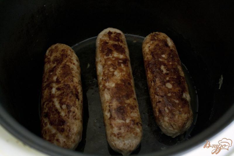 Фото приготовление рецепта: Купаты из курицы шаг №11