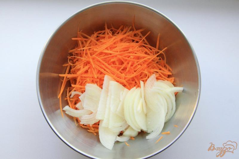 Фото приготовление рецепта: Хе из курицы с заправкой « Чим Чим » шаг №3