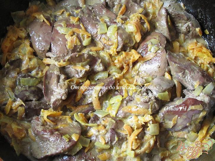Паштет из куриной печени с луком и морковью - рецепт пошаговый с фото