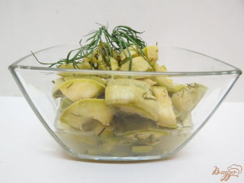 Фото приготовление рецепта: Кабачки диетические в микроволновке шаг №1
