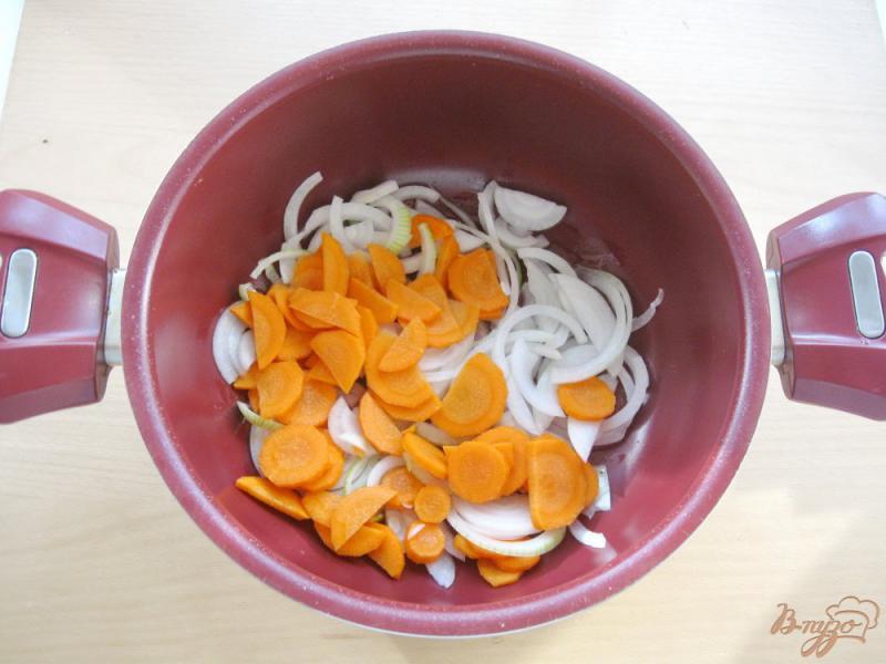 Фото приготовление рецепта: Соте из кабачков и баклажанов шаг №2